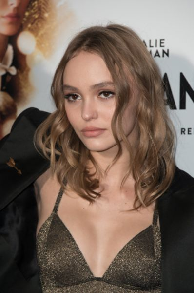 Lily-Rose Depp perfect hair colour