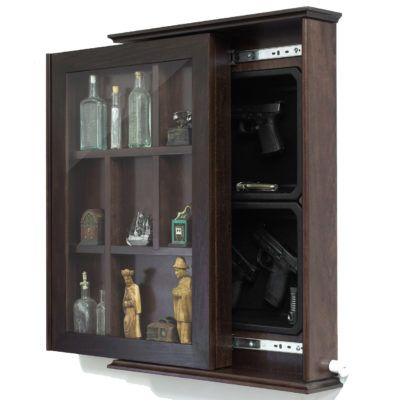 Custom Concealment Shadowbox with magnetic Lock