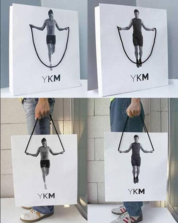 A collection of amazing shopping bag designs
