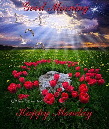 Good Morning. Happy Monday !