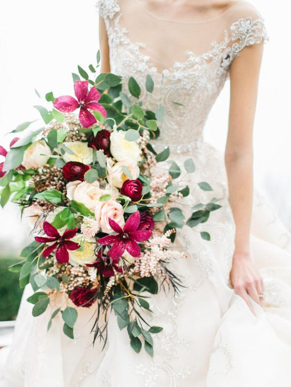 Garnet and Pink Bouquet   photography by http://www.rachel-may.com/