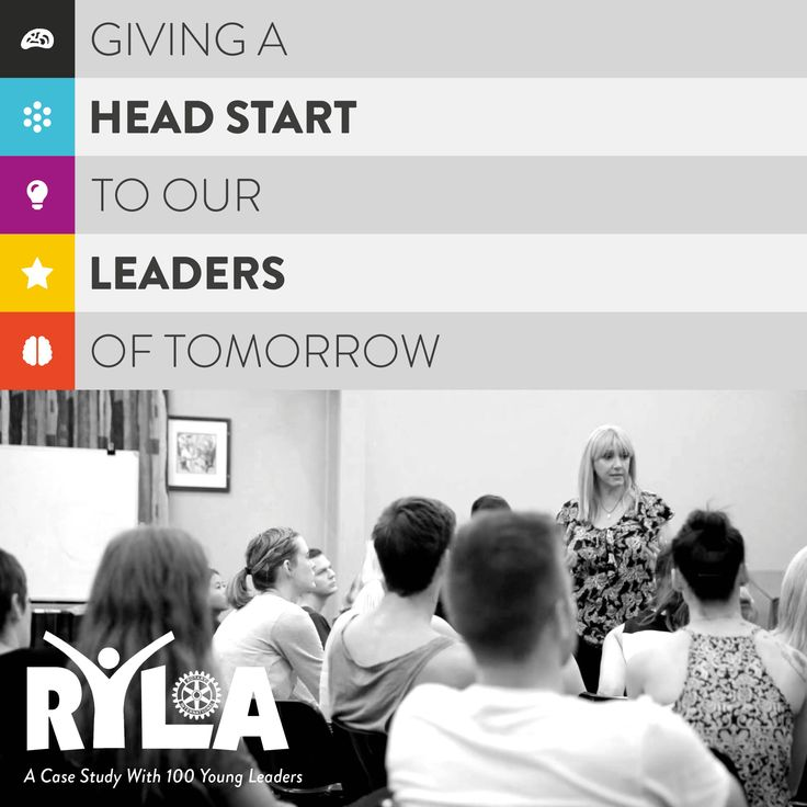 Giving a head start to our leaders of tomorrow: An application of the i4 Neuroleader Model & 360 Assessment. A program created by Silvia Damiano from the About my Brain Institute in conjunction with RYLA. http://blog.aboutmybrain.com/giving-a-head-start-to-our-leaders-of-tomorrow/