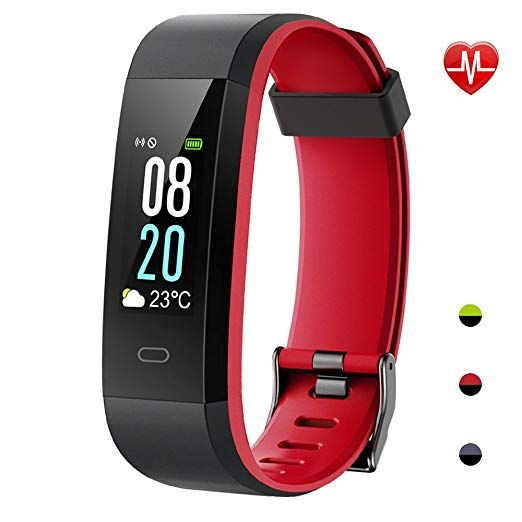 Yamay Fitness Tracker Wasserdicht Ip68 Fitness Armband 0 96 Zoll Farbbildschirm Smartwatch Aktivitatstracker Pulsuhren Schrittzaehler Smart Watches Pinte
