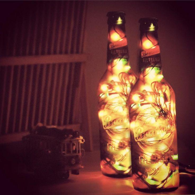 #lampbada size özel fiyatı ile 2 adet Beerbottle Lamp #indirim de.. #elyapımı #dekoratif #camşişeleri kaçırmayın! Hemen www.sorrpa.com/marka/lampbada adresinden daha fazlasına ulaşın. #dekorasyon #aydınlatma #designlamp #istanbul #gece #sorrpa #sorrpalı #online #hemenal #alışveriş Lampbada Dekoratif Lambalar