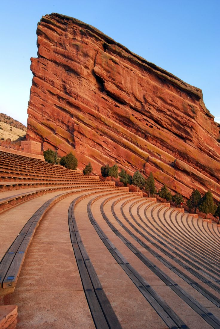 It's Denver Concert season! Are you planning on seeing a show? Don't worry about driving; Bus To Show is a great alternative. The bus provides transportation to and from concerts at Red Rocks Park and Amphitheatre and other venues. Named the number one amphitheater in America by Rolling Stone, Red Rocks with its natural sound system and breathtaking views is a Denver gem and a must-see! #DenverExpertAtHyatt #Denver #Travel