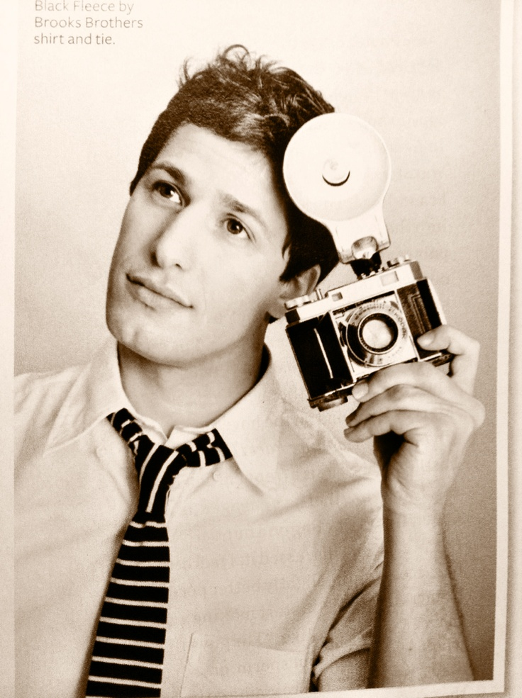 Andy Samberg for InStyle, June 2012