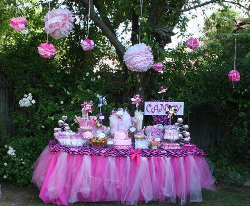 Diva 1st Birthday Candy Buffet Handmade Tutu Amp Elastic