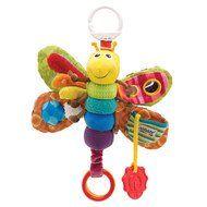 Spieltier zum Aufhängen Clip & Go Freddie das Glühwürmchen
