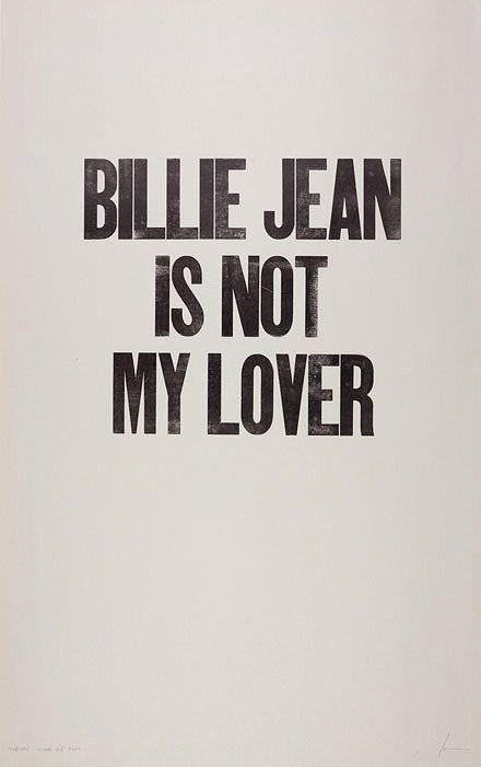 Billie Jean.