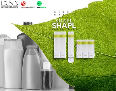 "Check out new work on our @Behance portfolio: ""Introducing SHAPL Smart Shower Containers"" http://on.be.net/1HNx59p"