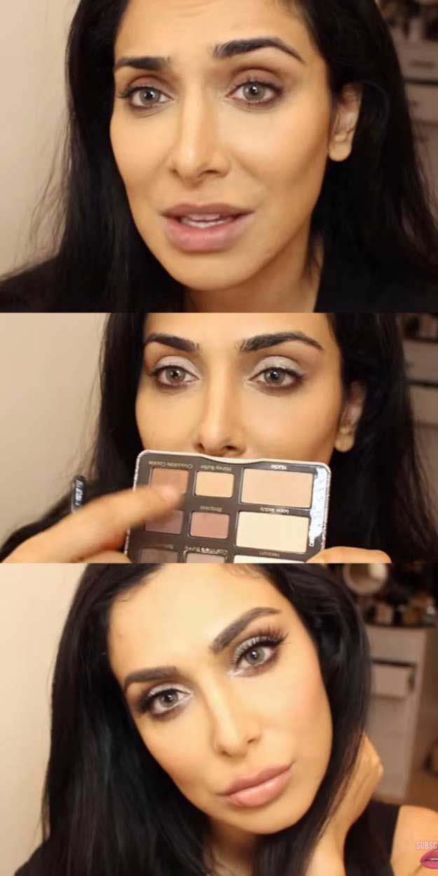 Makeup Tutorials For Small Eyes - Perfect Makeup Tutorial for Small Eyes!\ مكياج لتكبير العيون الصغيرة - Easy Step By Step Guides On How to Apply Eyeliner and Get Perfect Lashes and Brows and How To Make Your Eyes Look Bigger - Beauty Tips for All Different Faces - Eyebrows and Cut Crease Youtube Videos for Girls - thegoddess.com/makeup-tutorials-small-eyes