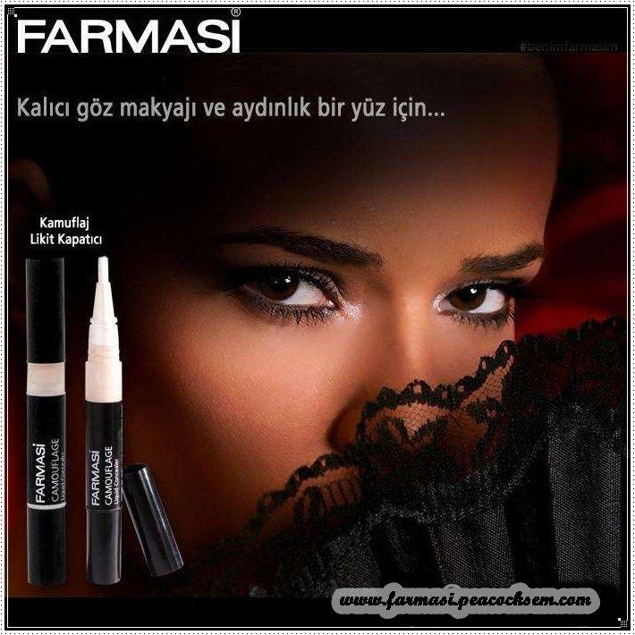 Kalıcı göz makyajı. www.farmasi.peacocksem.com