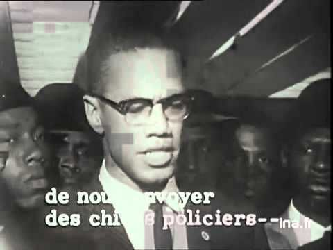 "Malcolm X - In RARE form; ""We want a divorce and a property settlement!"""