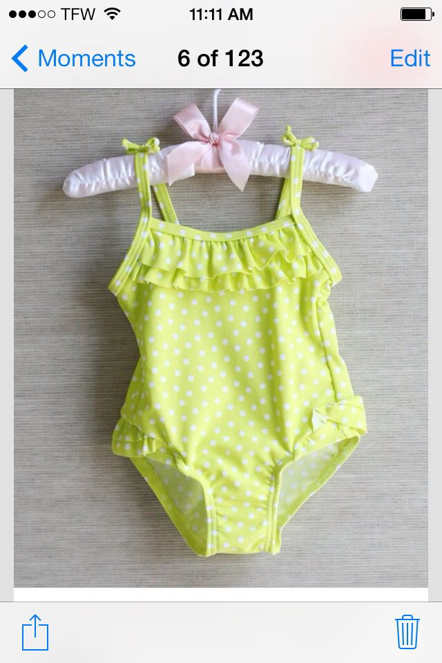 Children bathing suit