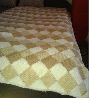 Horgolt holmik boltja: Ágytakaró BDF