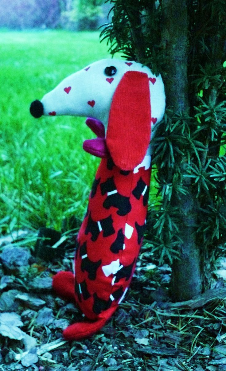 MY sewing-dachshund dog