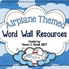 Included in this 65 page download are 26 AIRPLANE themed header cards, along with over 240 most commonly used words in kindergarten and first grade...