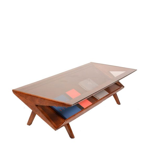 Mid-Century Coffee Cocktail Table by John Keal for by MotleyLA