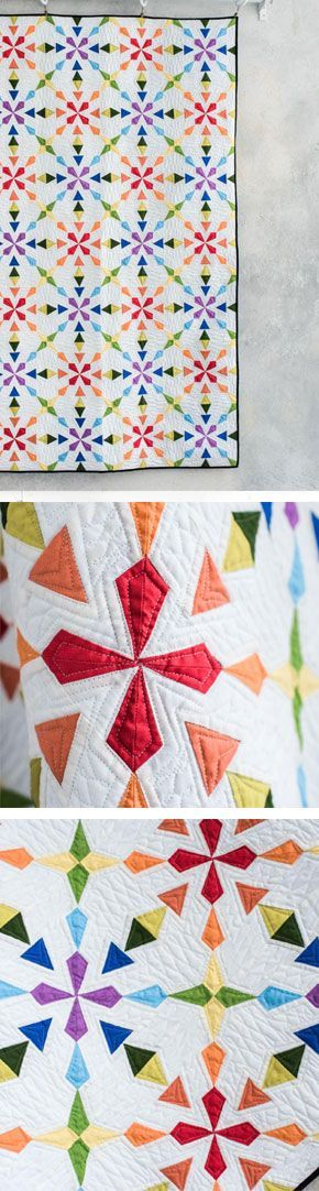 958 best Not Your Grandmother's Quilt images on Pinterest ... : colorful quilt patterns - Adamdwight.com