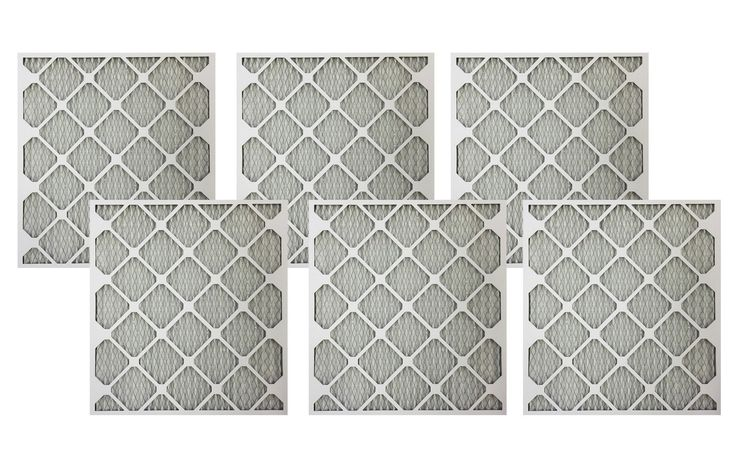 6 21x23x1 MERV-11 Air Furnace Filters