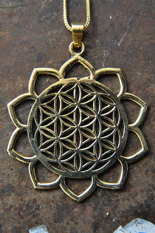 Ketting Mandala Flower of Life
