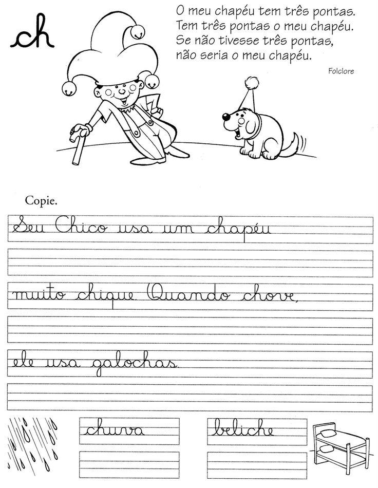 ESPAÇO EDUCAR: Atividades de Caligrafia Zigue-zague!