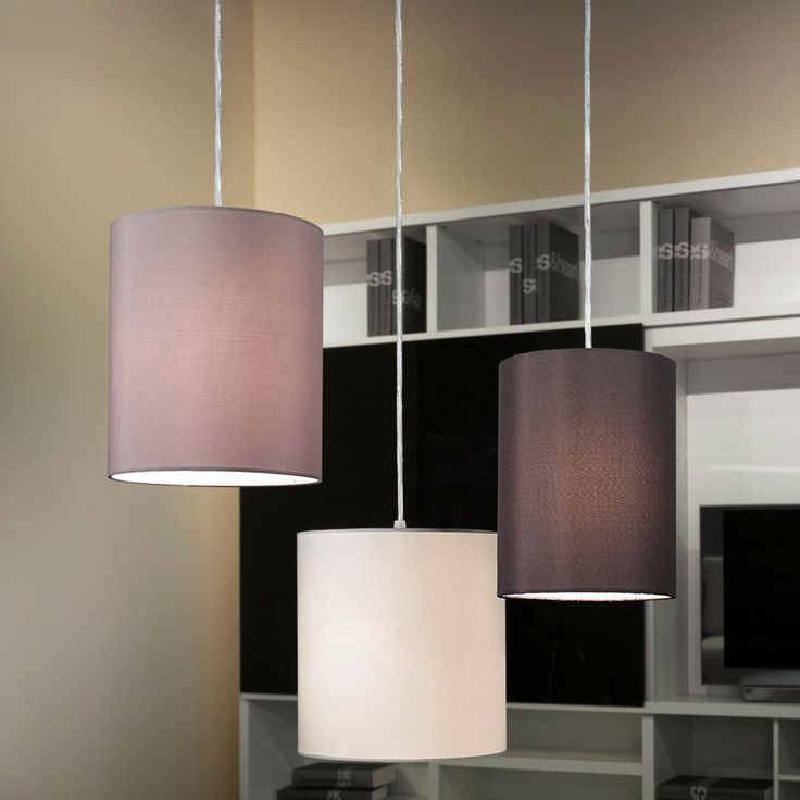 The Tombolo Triple Shade Pendant Light is a modern looking light with a  unique design.
