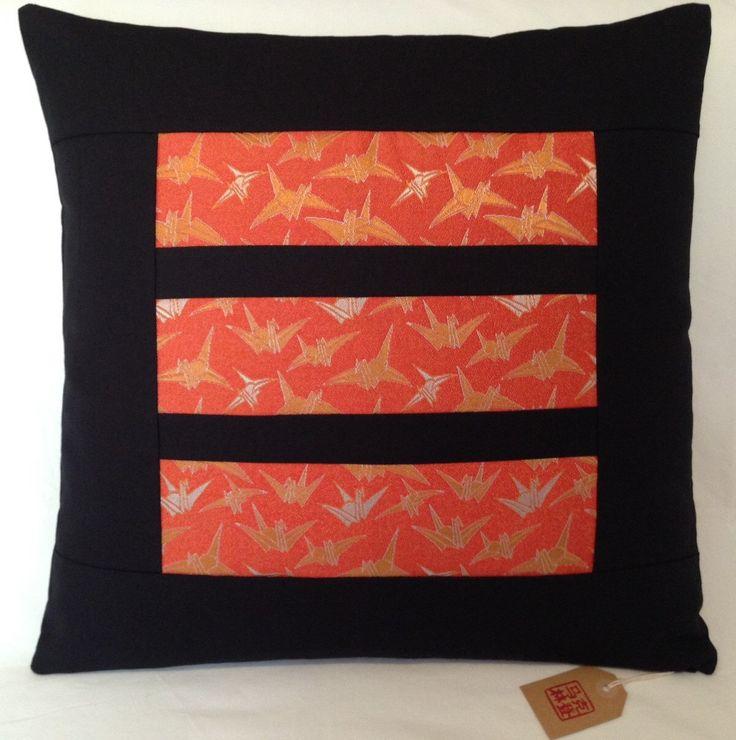 A personal favourite from my Etsy shop https://www.etsy.com/au/listing/258398884/vintage-japanese-kimono-obi-cushion