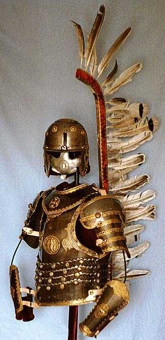 Polish Hussars were an elite Calvary started in the 16th century.  Must read more about them.