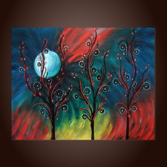 Hey, I found this really awesome Etsy listing at https://www.etsy.com/listing/35493172/peacock-inspiration-abstract-landscape