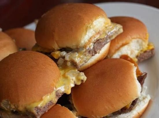 Copycat White Castle: Krystal Burgers #justapinchrecipes