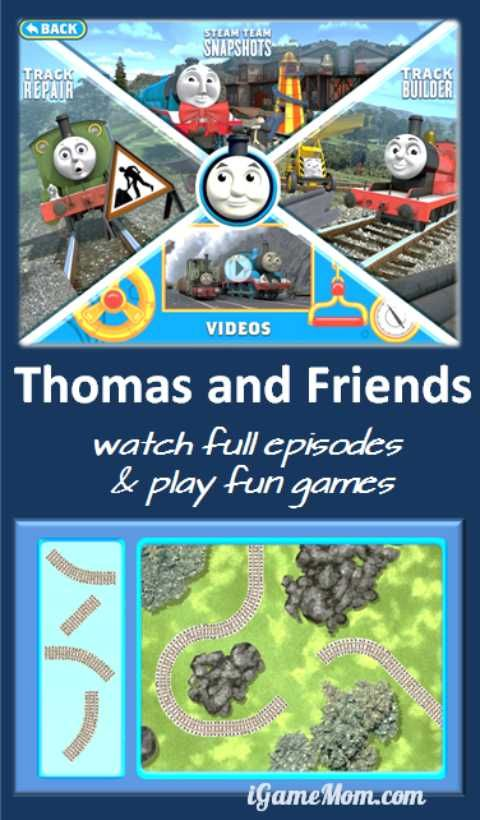 The first Thomas and Friends app allowing you to watch full episodes of the TV shows. In addition, kids play fun games with the engines and railway tracks. A fun app for kids from PBS kids.