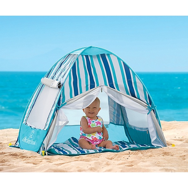 Made In The Shade! Love keeping the kiddos cool at the beach!