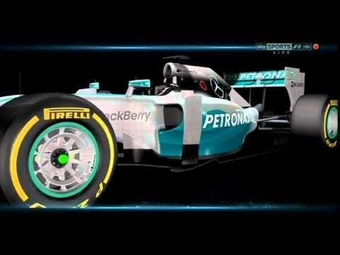 ▶ Sky Sports F1 2014: Mercedes Novel Turbo Design- Improves Turbo Performance- Separated Turbine and Compressor wheels!?!- YouTube