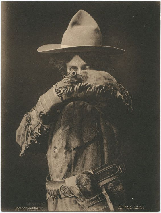 Title: A True Girl of the West.  Creator: George Bancroft Cornish  Date: 1906