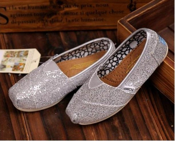 Toms Kids Shoes Silver Youth Glitters : Toms Outlet Shoes Online, Cheap toms shoes on sale,toms outlet online,toms outlet shoes save with 70% and 100% quality guarantee!