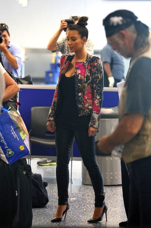 Kim K. Can I have this jacket please..
