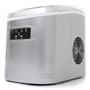 $154-Whynter 1.5 lb Compact Portable Ice Maker No drain needed, filters & reuses melted ice!