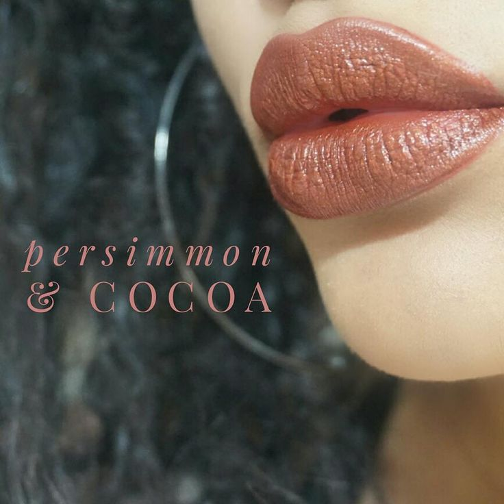 Persimmon & Cocoa layered LipSense.  Join my group http://LipsByTammy.com