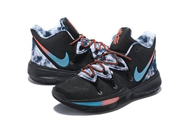 Nike Kyrie 5 Black Colorful Men's Basketball Shoes Irving