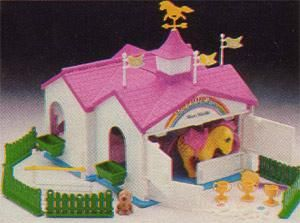 My Little Pony Show Stable - We still has this at her house.
