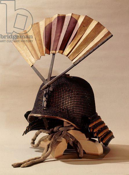 Шлем украшен войны вентилятора
