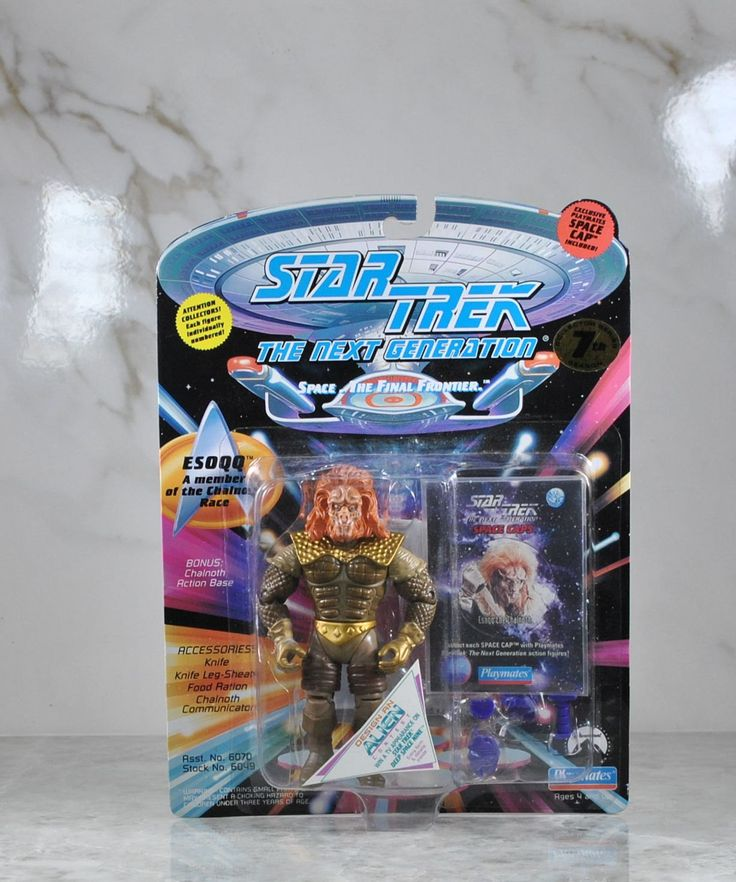 Playmates Star Trek The Next Generation Action Figure 1994 Esoqq Of The Chalnoth Race