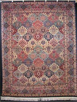 Persian Garden of Paradise rug