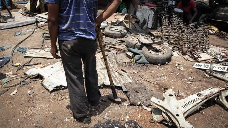 """I just posted """"Mumbai's car wreckers"""" to Exposure"""