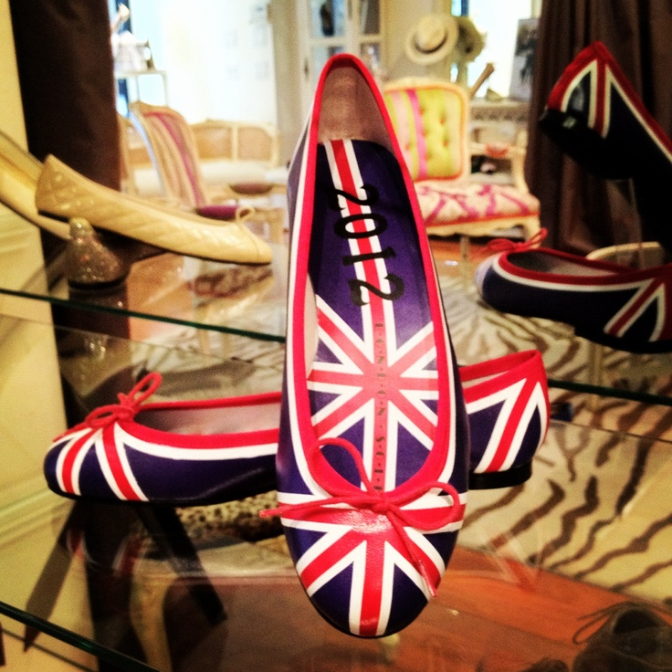 Olympic shoes - ok not for kids but mum and very cute
