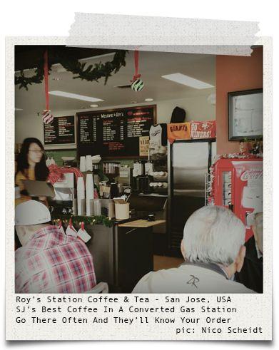 Roy's Station Coffee & Tea - San Jose, USA (pic: Nico Scheidt via www.hiddentreasures.ch)