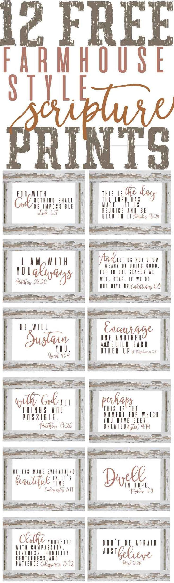 Free Planner & Organization Printables — The Mountain View Cottage
