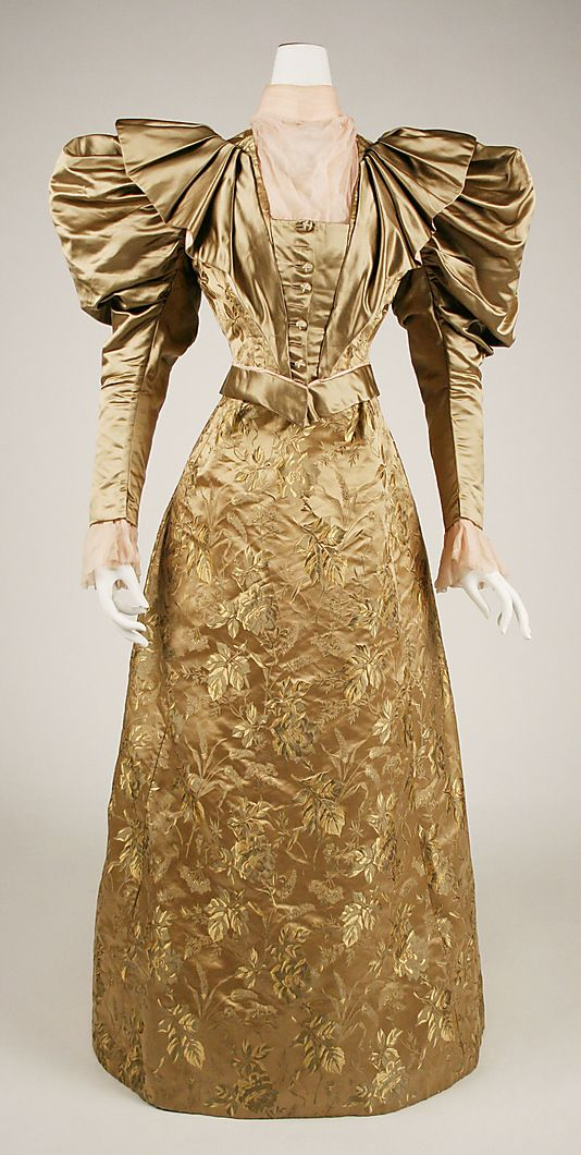 Dress, circa 1895, United States via the Met Museum