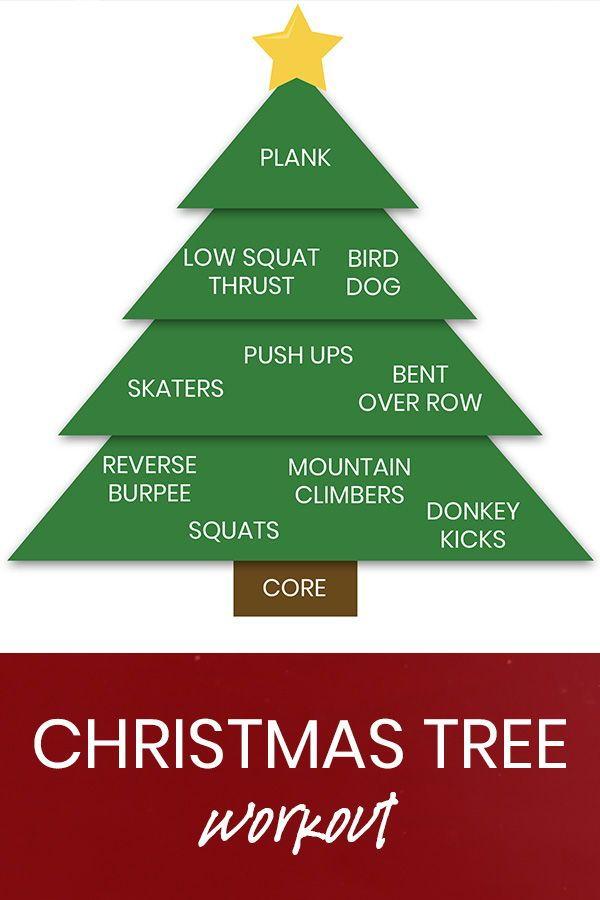 Christmas Tree Workout Burpees N Beers Christmas Workout Workout Christmas Tree